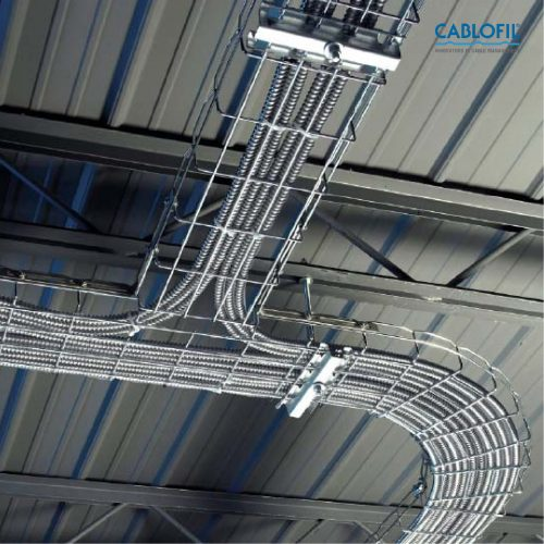 Wire Mesh Cable Tray Management